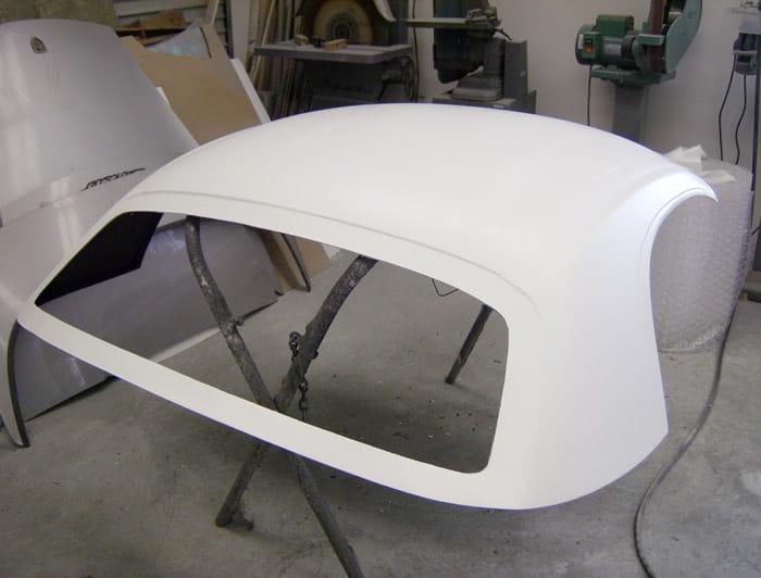 Sheridan Motorsports Composite Hard Top