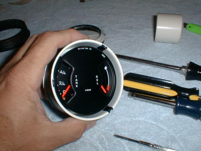how to take apart an ashcroft gauge