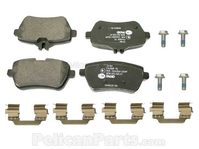 Pagid Brand  Brake Pads for Mercedes