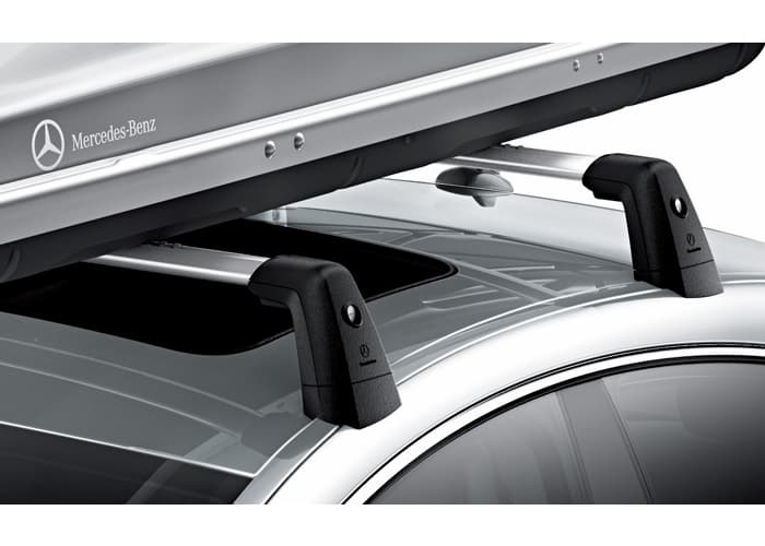 Mbz Roof Rack Base System Cls Class C218 Pelicanparts Com