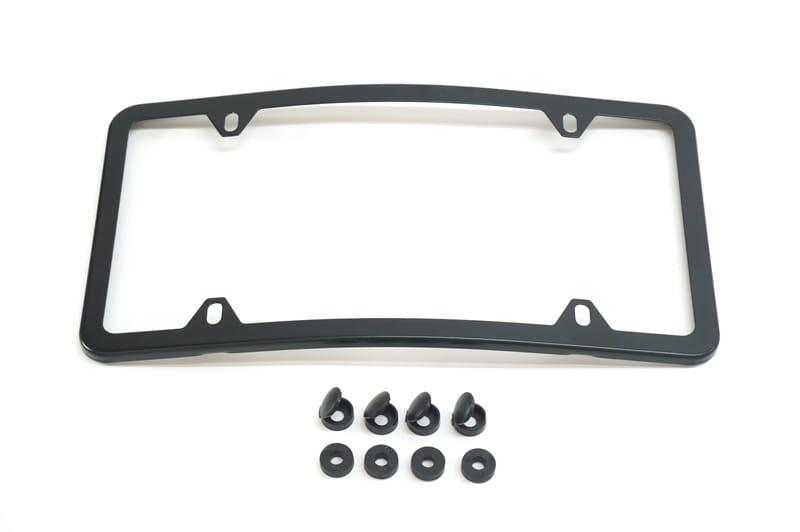 Stainless Steel Slimline License Plate Frame Q6880104 - Genuine ...