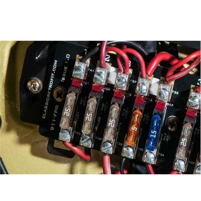 classic retrofit 911 fuse panel upgrade pelicanparts com