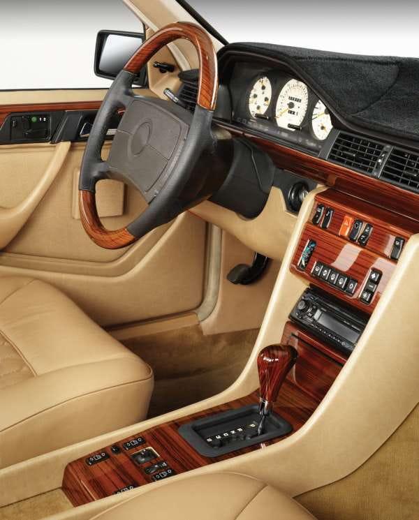 Mercedes w124 interior trim for Mercedes benz interior trim parts